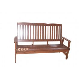 Tradgard 41400 Zahradní dřevěná lavice LUISA třímístná