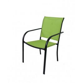Tradgard 41364 Zahradní kovové křeslo zelené