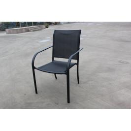 Tradgard 41362 Zahradní kovové křeslo černé