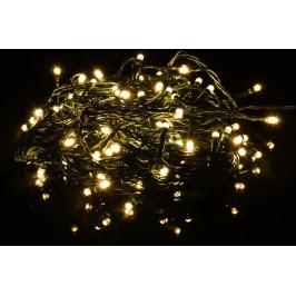 Nexos 33547 Vánoční LED osvětlení 20 m - teple bílé 200 LED s časovačem