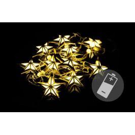 Nexos Trading GmbH & Co. KG 39404 Vánoční LED osvětlení - hvězdy - teple bílé 10 LED