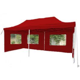 Garthen 9484 Zahradní párty stan 3 x 6 PROFI - nůžkový - červený
