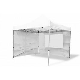 Garthen PROFI 6378 Zahradní párty stan nůžkový 3x3 m bílý + 4 boční stěny