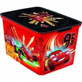 Plastový dětský úložný box - L - CARS CURVER