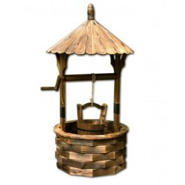 Tuin 30184 Zahradní dekorace - dřevěná studna