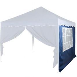 INSTENT 6367 Boční stěna s trojdílným oknem - 3x3m - modrý