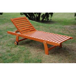 Tradgard LUISA 41250 Zahradní dřevěné lehátko