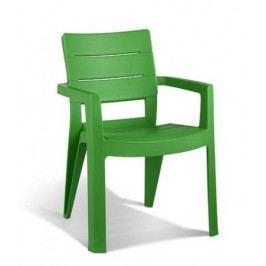 Allibert 6718 Zahradní plastové křeslo IBIZA zelená