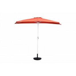 Garthen 6300 Půlkruhový zahradní slunečník - terakota - 2,7m