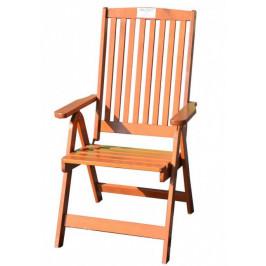 Tradgard HOLIDAY 2700 Zahradní skládací židle lakované FSC