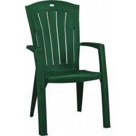 Plastové křeslo SANTORINI - zelené