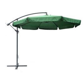 Tradgard EXCLUSIVE 7240 Slunečník boční - zelený 300cm