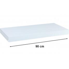 STILISTA VOLATO 31063 Nástěnná police  - bílá 90 cm