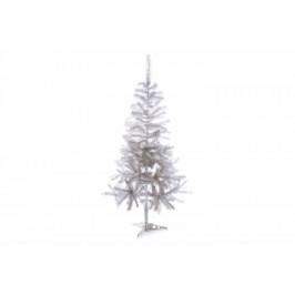 Nexos Trading GmbH & Co. KG 32995 Umělý vánoční strom s třpytivým efektem - 150 cm, bílý