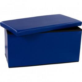 STILISTA 6478 Skládací lavice s úložným prostorem - modrá