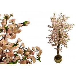 Umělá rostlina strom - kvetoucí třešeň 180 cm