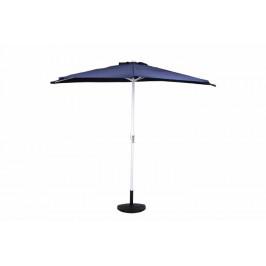 Garthen 6299 Půlkruhový zahradní slunečník - tmavě modrý - 2,7m