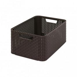 CURVER 32297 úložný STYLE BOX - M- hnědý