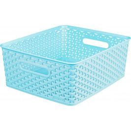 CURVER 41154 Košíček box - M - modrý