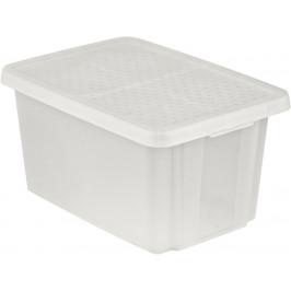 CURVER 41150 Úložný  box s víkem  45L - transparentní