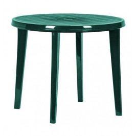 CURVER LISA 6607 Zahradní plastový stůl 90 cm zelená