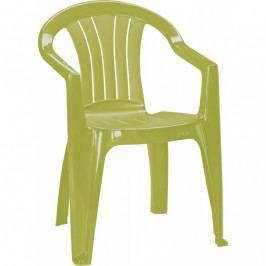 CURVER 36730 Zahradní plastové křeslo SICILIA světle zelená