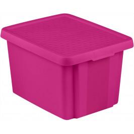 CURVER 41143 Úložný  box  s víkem 26L - fialový