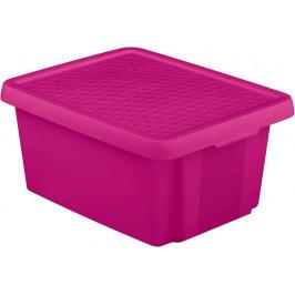 CURVER 41139 Úložný  box s víkem 20L - fialový