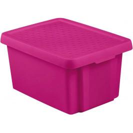 CURVER 41135 Úložný box s víkem 16L - fialový