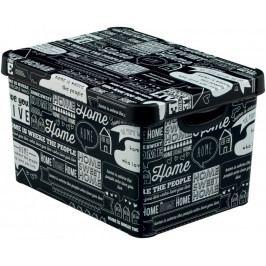 CURVER TYPOGRAPHY 41126 BOX plastový s víkem - L