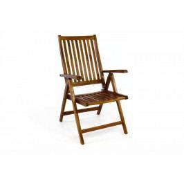 Divero 361 Skládací židle z akátového dřeva