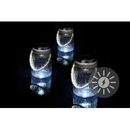 Garthen 36747 Sada 3 kusů solárního osvětlení - závěsná sklenice
