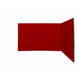 Garthen PROFI 27312 Sada 2 bočních stěn k nůžkovému stanu - červené