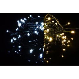 Nexos 41709 Vánoční světelný řetěz 400 LED - 9 blikajících funkcí - 39,9 m
