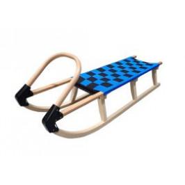 CorbySport 32617 Sáně 110cm dřevěné - modré