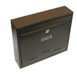 G21 24023 Schránka poštovní  RADIM velká 310x360x90mm hnědá