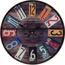 Koopman 35628 Kulaté nástěnné hodiny Shabby Chic 38 cm - SPRING