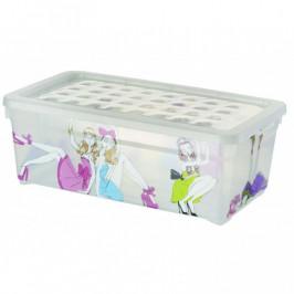 CURVER 33013 Plastový box s víkem - S - PANENKY