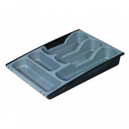 CURVER 31842 Plastový příborník - šedo/černý