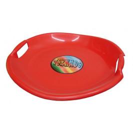CorbySport Tornádo 28315 Talíř sáňkovací - červený