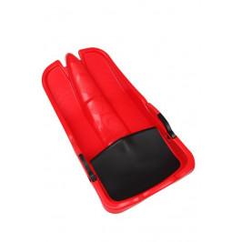 CorbySport Superjet 28063 Plastový bob - červený
