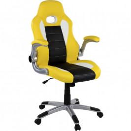 RACEMASTER® 39188 Kancelářská židle GT Series One - žlutá/černá/bílá