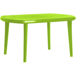 Allibert ELISE 35576 Plastový oválný stůl - light green