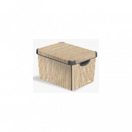 CURVER 32336 Box DECO - S - Bamboo