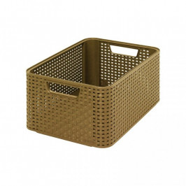 CURVER 32298  úložný STYLE BOX - M- kávový
