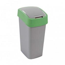 CURVER FLIPBIN 31359 Odpadkový koš 50l - zelený