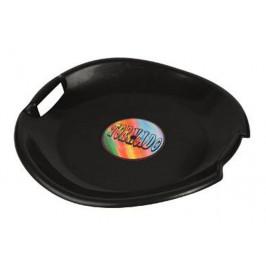 Tornádo talíř sáňkovací - černý