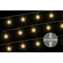 Nexos 2174 diLED světelný řetěz - 100 LED teple bílá