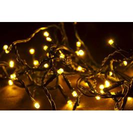 Nexos Vánoční LED řetěz - 30 m, 300 LED, teple bílý