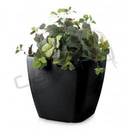 G21 24049 Samozavlažovací květináč  Cube maxi černý 45cm